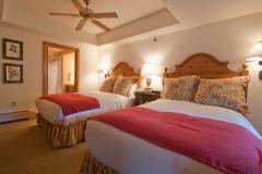 Interior condo- secondary bedroom